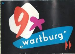 WARTBURG/Catalogue Automobile/ DDR/ Eisenach/ Allemagne De L´Est/1958   AC99 - Automobile