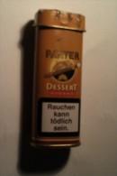 ETUI METAALIQUE 6 CIGARES PANTER - DUIZEL HOLLAND - Étuis à Cigares