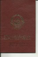 YOUGOSLAVIE, YUGOSLAVIA  ---  PASSPORT  --  1987 - Historische Dokumente