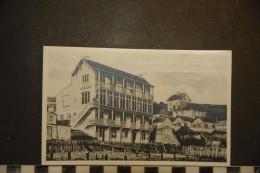 CP, 14, Vierville Sur Mer La Maison Le Gallois Café Eden Bellevue Avant La Guerre RARE Publicité - Autres Communes