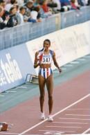 Photo Originale De Presse - ATHLETISME  , Marie-josé  PEREC  Médaille D´or à  GOTEBORG  En SUEDE - Sports