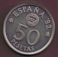 ESPANA 50 PESETAS 1980 (81) ESPANA 82 - [ 5] 1949-… : Regno