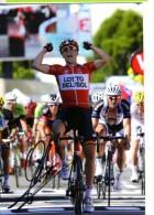 CYCLISME   Tour De France  AUTOGRAPHE TONY GALLOPIN Sur Photo 10 X 15 - Cycling