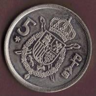 ESPANA 5 PESETAS 1975 (80) - [ 5] 1949-… : Royaume