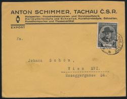 Czechoslovakia CSSR Business Mail Cover Knopffabrik - Briefe U. Dokumente