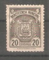 Viñeta De Beneficiencia Municipal. - España
