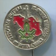 SCOUT, Scoutisme, Eclaireur -  Yugoslavia, Belgrade, Metal, Pin, Badge - Padvinderij