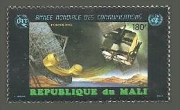 MALI 1983 WCY WORLD COMMUNICATIONS YEAR TELEPHONE SPACE SATELLITE SET MNH - Mali (1959-...)