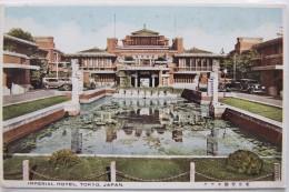Imperial Hotel, Tokyo (Japon), Carte Postale Ancienne. - Japan