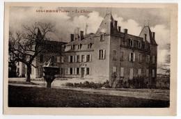 """Cpa """" COLOMBIER ( Saugnieu ) - Le Chateau """" Non Circulé - Meyzieu"""
