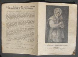 CANIVET IMAGE PIEUSE 4 Feuillets Avec Texte Année 1925 : LE Bx PIERRE JULIEN EYMARD - HOLY CARD - SANTINO - Images Religieuses