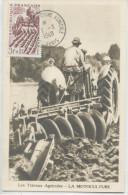 AGRICULTEUR (Yvert N° 823) Carte Maximum / 1949 / Salon De La Machine Agricole - 1940-49