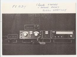 Carte Radio Qsl - Sartilly - 50 - Manche - F6ady - 1991 - Amateurfunk