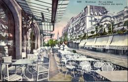 CP - Montreux - Palace  Hotel Et Pavillon Des Sport - Suisse