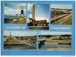 BELG 05 - Ronquières - Belgique - Canal - Plan Incliné - écluse Péniche - Braine-le-Comte