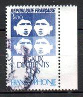 FRANCE. N°2347 Oblitéré De 1985. La Francophonie. - Idioma