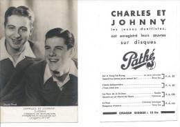 Charles TRENET Et Johnny HESS - Artisti