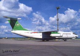Aircraft  VOLGA DNEPR IL-76T RA-78731 Aereo Avion Aviation Aiplane Planes Flugzeuge PRAGUE - 1946-....: Moderne
