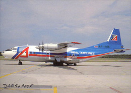 Aerei Aircraft  URAL AIRLINES AN-12BP RA 11036  Avion Aviation Aiplane Planes Flugzeuge - 1946-....: Moderne