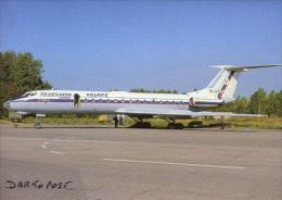 Aerei Aircraft TRANSAERO VOLARE  TU 134A-3 RA-65926   Aviation Aiplane Planes Flugzeuge MOSCOW SVO - 1946-....: Moderne
