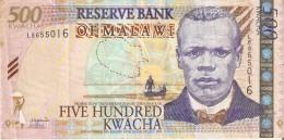 BILLETE DE MALAWI DE 500 KWACHA DEL AÑO 2003 (BANKNOTE) - Malawi