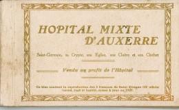Carnet Incomplet -  11 Cartes - Hôpital Mixte D´AUXERRE - Auxerre