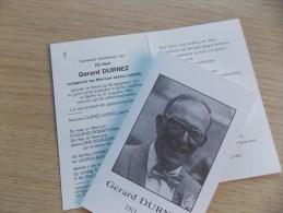 Doodsprentje Gerard Durnez Wervik 28/9/1911 Menen 31/8/1993 ( Jeanne Lagrou ) - Religion & Esotericism