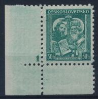 "*Czechoslovakia 1935 Mi 339 Plate Planche Platte ""1"" Kyrill Method MH - Tschechoslowakei/CSSR"