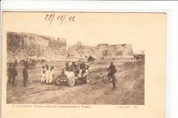 Tripoli, Occupazione Cirenaica, Automobile Visita Del Governatore - Cartoline