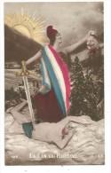 CPA - LA FIN DU BARBARE - MARIANNE TENANT LA TETE DU KAISER DECAPITEE - EPEE - EDIT. 122 A.G. - Guerre 1914-18