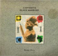 * LP *  LADYSMITH BLACK MAMBAZO - SHAKA ZULU (Germany 1987 EX!!!) - Wereldmuziek