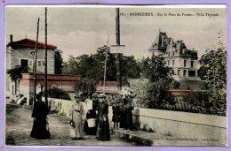 42 - ANDREZIEUX --  Sur Le Pont Du Furens - Villa Thyrode - Andrézieux-Bouthéon