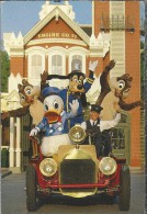 US.- Walt Disney World. Police Chief Goofy And His Main Street Volunteers Rev Up Their Old-time Fire  Where's The Fire? - Disneyworld
