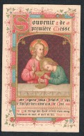 Joseph DEBIENNE, Souvenir De Mon Ordination Sacerdotale, Première Messe - Eglise De Taugissart, 09/1900 - Devotieprenten