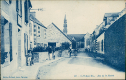 29 CARANTEC / Rue De La Mairie / - Carantec