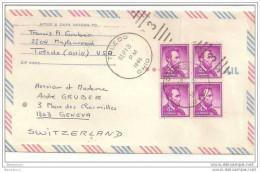 AM - 4887 - Lettre Envoyée De Toledo à Genève 1965 - United States