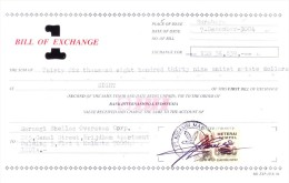 INDONESIA - BILL OF EXCHANGE - 2004 - Bills Of Exchange
