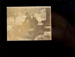 Photographie Originale Automobile Auto à Identifier Vers 1900 Avec Pilote - Cars