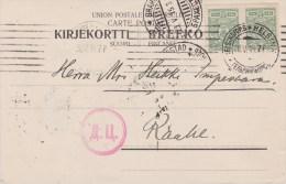 Finland; Censored Card 1915 - 1856-1917 Russian Government