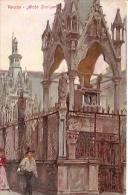 VERONA: ARCHE SCALIGERE-Nº1585-NON CIRCULEE-CARTE POSTALE ARTISTIQUE- GECKO. - Verona