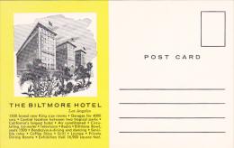 The Biltmore Hotel Los Angeles California