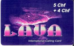 Prepaid:  Lava International Calling Card - Schweiz