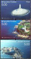 CROATIA - Set 3 Stamps - LIGHTHOUSES - 2007 - Croatie