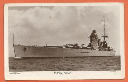 JAA-05 H.M. Nelson, Cuirassé, Canons. Circulé Sous Enveloppe. - Guerra