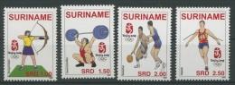 Surinam 2008 Olympiade 2196/99 Postfrisch (R2125) - Surinam