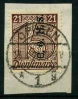 Oberschlesien, OPPELN 1 G Auf Briefstück (R1167) - Germany