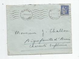 Lettre , PARIS 64 , R. De LOURMEL , 1939, 2 Scans - Marcofilie (Brieven)