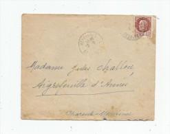 Lettre ,REFFANNES , Deux Sèvres , 2 Scans - Marcophilie (Lettres)