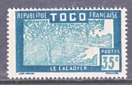 TOGO  227     * - Unused Stamps