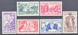 TOGO  258 -63     *   PARIS  EXPO. - Unused Stamps